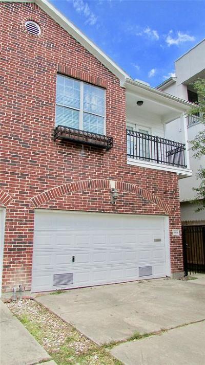 Houston Condo/Townhouse For Sale: 5808 Petty Street #B