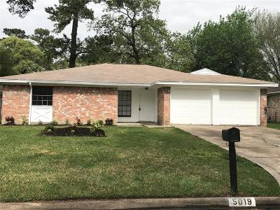 Spring Single Family Home For Sale: 5019 Fitzwater Drive