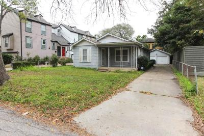 Houston Single Family Home For Sale: 810 Knox Street