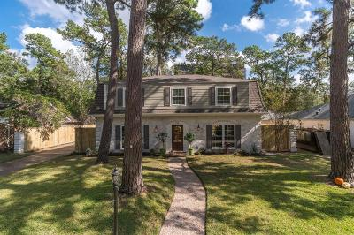Houston Single Family Home For Sale: 726 Thistlewood Drive