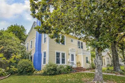 Galveston Single Family Home For Sale: 4909 Crockett Boulevard