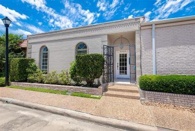 Houston Condo/Townhouse For Sale: 9404 Stonehouse Lane