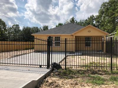 Houston Single Family Home For Sale: 8610 Caddo Road