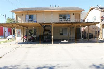 Houston Multi Family Home For Sale: 801 66th Street #4