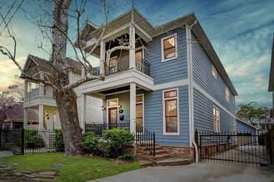 Houston Single Family Home For Sale: 1526 Herkimer Street