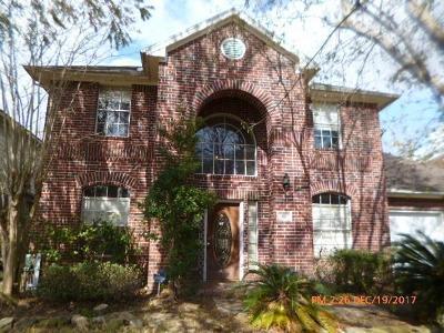 Missouri City Single Family Home For Sale: 1822 Arrowhead Court
