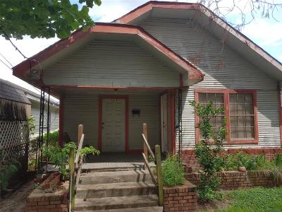 Houston Single Family Home For Sale: 7315 Avenue H