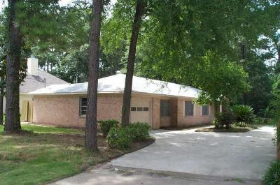 Conroe Single Family Home For Sale: 1400 Sweetgum Street