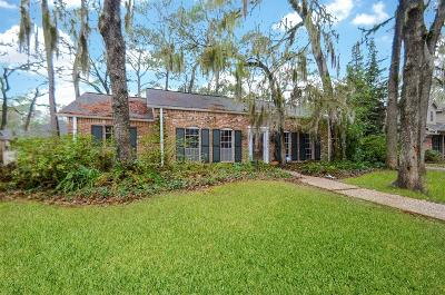 Houston TX Single Family Home For Sale: $550,000