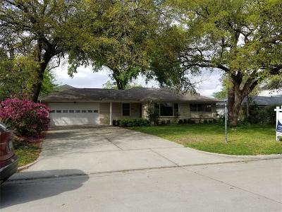 Bellaire Single Family Home For Sale: 5004 Holt Street