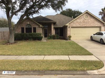 Single Family Home For Sale: 16207 Ruffian Drive