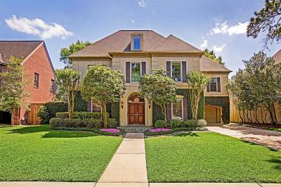 Houston Single Family Home For Sale: 4045 Overbrook Lane