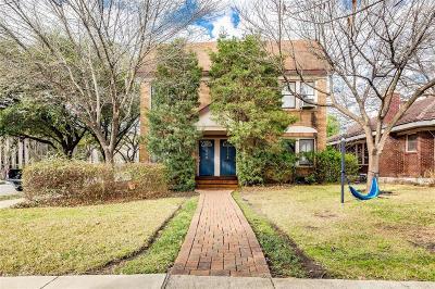 Houston Multi Family Home For Sale: 1756 Sul Ross Street