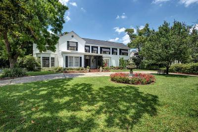 Houston Single Family Home For Sale: 2012 Rice Boulevard
