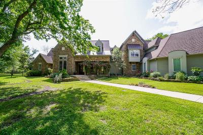Fulshear Single Family Home For Sale: 5127 Harris Woods Trace