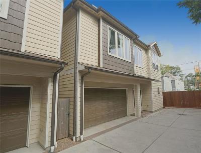 Houston Single Family Home For Sale: 819 W 21st Street #C