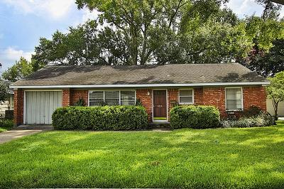 Bellaire Single Family Home For Sale: 504 Wilmington Drive