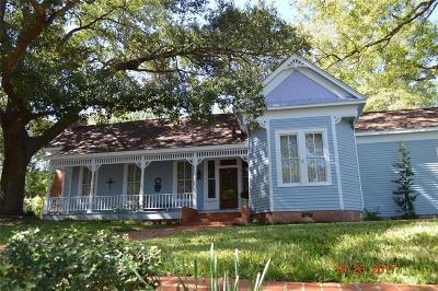 Chappell Hill Single Family Home For Sale: 4922 Main Street