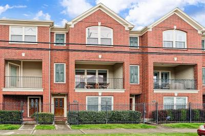 Houston Condo/Townhouse For Sale: 703 Jackson Hill Street