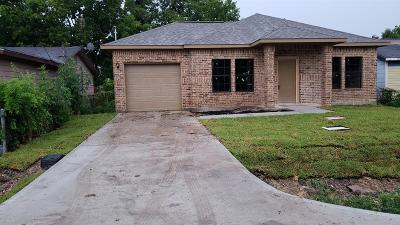 Houston Single Family Home For Sale: 424 De Haven Street
