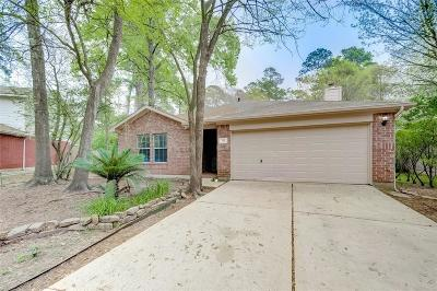 The Woodlands Single Family Home Option Pending: 42 N Bristol Gate Place