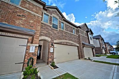 Rosenberg Condo/Townhouse For Sale: 1229 Citruswood Trail Lane