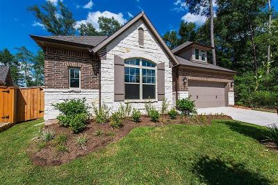 Conroe Single Family Home For Sale: 154 Painted Trillium Drive