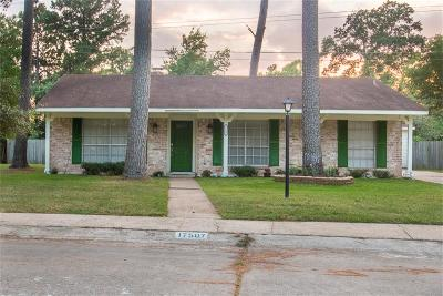 Spring Single Family Home For Sale: 17507 Methil Drive