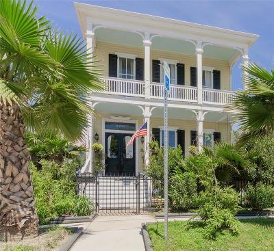 Galveston Single Family Home For Sale: 2024 Avenue K