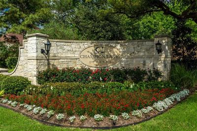 Tomball Residential Lots & Land For Sale: 17403 Rachels Way Court