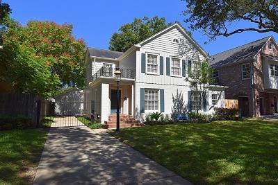 Houston Single Family Home For Sale: 2412 Glen Haven Boulevard