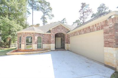 Willis Single Family Home For Sale: 15970 Foxhall