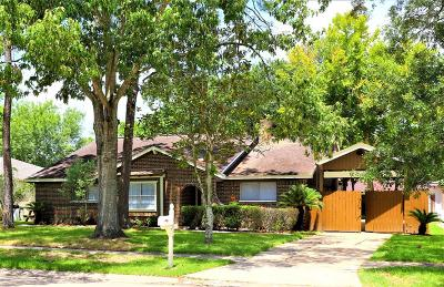 Friendswood Single Family Home For Sale: 15819 Wandering Trail