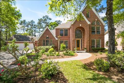 The Woodlands Single Family Home For Sale: 19 Craggy Rock Street