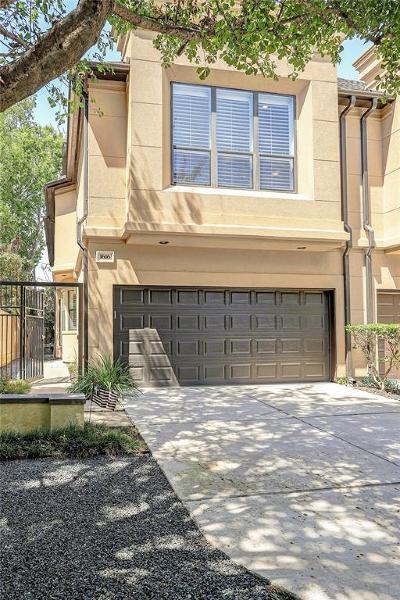 Houston Condo/Townhouse For Sale: 1616 Castle Court