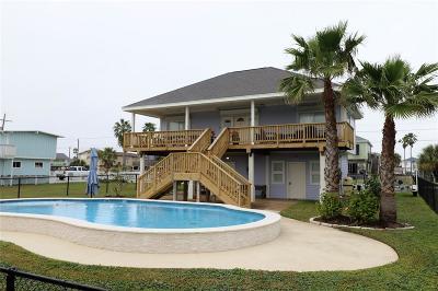Galveston Single Family Home For Sale: 21907 Matagorda Drive