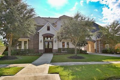 Fulshear Single Family Home For Sale: 6214 Flewellen Falls Lane