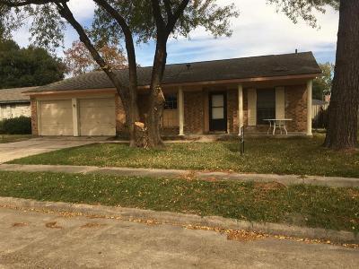 Houston Single Family Home For Sale: 2614 Ashington Drive