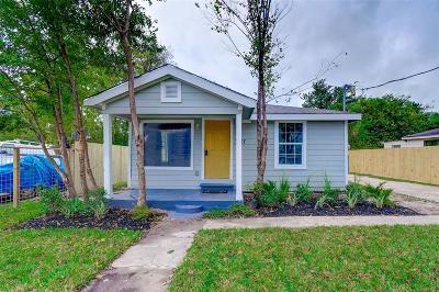 Houston TX Single Family Home For Sale: $124,900