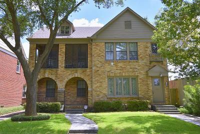 Houston Multi Family Home For Sale: 1915 Marshall Street