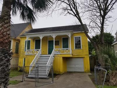 Galveston Single Family Home For Sale: 2015 Avenue L