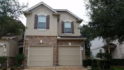 Tomball Condo/Townhouse For Sale: 16026 Summerville Lake Drive
