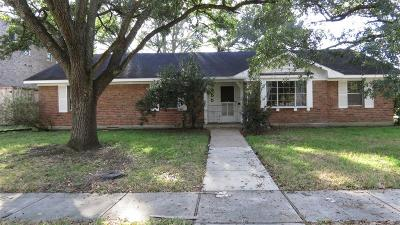 Meyerland Single Family Home For Sale: 4955 Wigton Drive