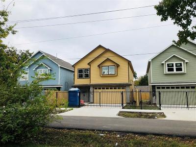 Houston Single Family Home For Sale: 3801 Oxford, Unit B