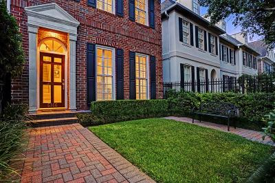 Houston Condo/Townhouse For Sale: 5166 Chevy Chase Drive