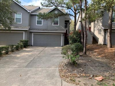 The Woodlands TX Condo/Townhouse For Sale: $1,600