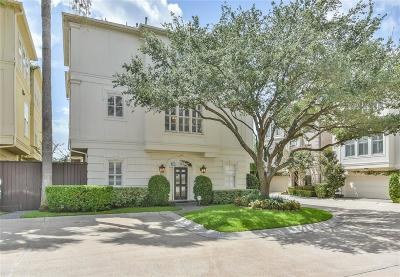 Houston Condo/Townhouse For Sale: 1917 Greenwich Place Drive