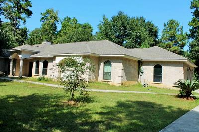 New Caney Single Family Home For Sale: 21957 Whitetail Xin