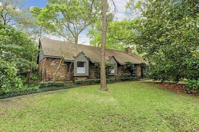 Houston Single Family Home For Sale: 5 Cape Cod Lane