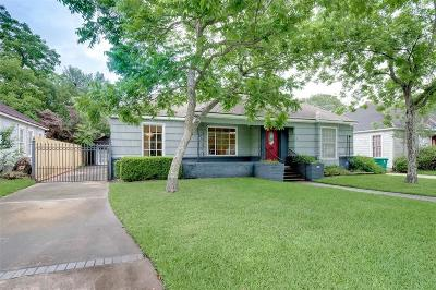 Single Family Home For Sale: 2438 Goldsmith Street